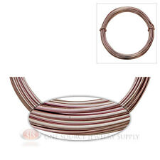 Rose Aluminum Craft Wire Wrapping 12 Gauge Sculpture 39 Ft. Floral Jewelry