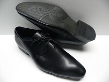Chaussures ZY noir pour HOMME taille 40 garcon costume de mariage NEUF #178