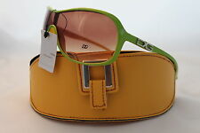 D.G SUNGLASSES NEW STYLE HOLIDAY FASHION GREEN CELEBRITY DG + YELLOW CASE
