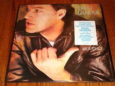 DAVID GILMOUR ABOUT FACE ORIGINAL LP STILL IN SHRINK