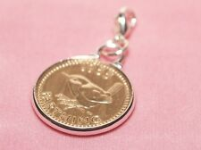 1940 79th Birthday Farthing coin bracelet charm ready to hang 1940 birthday gift