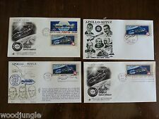 Vintage 1975 APOLLO SOYUZ LINK UP SPACE FIRST DAY OF ISSUE POSTAGE STAMPS STAMP