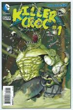 Batman & Robin #23.4 Killer Croc #1 3D Lenticular Variant, NM/MT 9.8, 1st Print