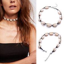 Women Beach Sea Shell Cowrie Pendant Choker Necklace Boho Jewelry Gift Charming