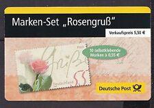 BRD 2002 gestempelt Markenheft  MiNr. 51    Rosengtuß mit ESST Berlin