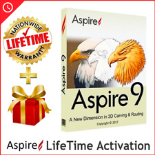 Vectric Aspire Latest version l  Lifetime Activation l Fast delivery