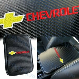 For CHEVROLET Chevy Car Center Console Armrest Cushion Mat Pad Cover Embroidery