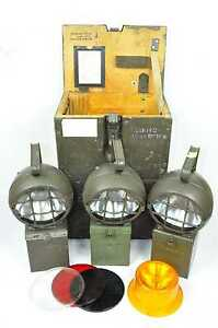 Eisemann KEB 130/1 Handleuchte // Lampe // Leuchte // Hindernis Lampe // BW 2