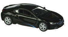 Kinsmart 1:36 Scale Bmw i8 2 Doors Coupe Diecast Toy Car Pull back and Go BLACK