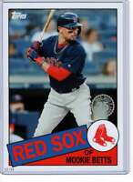 Mookie Betts 2020 Topps 1985 35th Anniversary 5x7 #85-21 /49 Red Sox