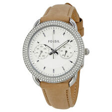 Fossil Tailor Multifunction Ladies Leather Watch ES4053