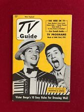 """1951, Jerry Lewis / Dean Martin, """"TV Guide"""" (No Label on Front) Scarce"""
