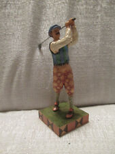 Jim Shore Time for Tee Golfer Golf Figurine 4026886