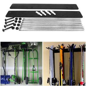 Ski & Snowboard Rack Wall Mount Storage Hanging Display Accessory