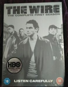 THE WIRE COMPLETE FIRST SERIES LISTEN CAREFULLY 5 DISC New and Sealed