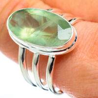 Prehnite 925 Sterling Silver Ring Size 11.5 Ana Co Jewelry R46969F