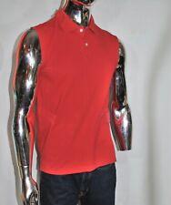 Men's FOOTLOCKER Red Polo Shirt Size M Sleeveless