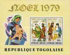 Timbres Religion Noel Togo BF133 ** lot 24242