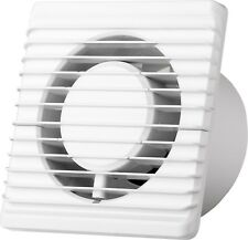 "Silent Bathroom Kitchen Fan Ventilator Ø 4"" / 5"" - only 26 dB - ALL MODELS !"