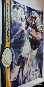 Fathead XXL Super Sized Life Size Chargers Ladainian Tomlinson 6ft x 4ft HOF RB