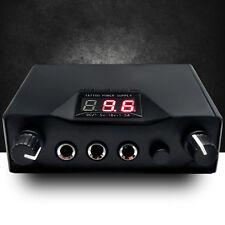 Black Professional LCD Dual Tattoo Machine Gun Power Supply Tattoo Machine WL89