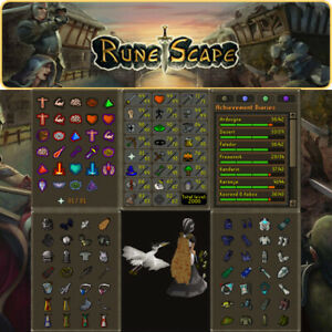 Max Combat Main | 2000 Total | 273 QP | 99 Smithing | OSRS | Delivery 24 hours
