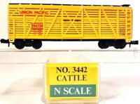 N Model Power 3442 40ft Cattle Car Union Pacific #294739 LNIB