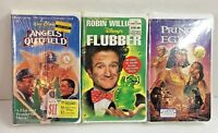 Lot oF 3 Factory Sealed VHS Family Movies Disney and Dreamworks Tapes