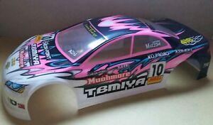 1/10 RC car 190mm on road drift Mazda Body Shell Black