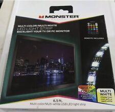 Monster Basics Color Changing USB LED Light Strip - 6.5 Feet