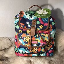 NWT Lily Bloom Lizzy Backpack - Beautiful Floral Fiesta Print