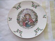 Royal Doulton Victorian Christmas Plate 1978