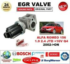 FOR ALFA ROMEO 156 1.9 2.4 JTD +16V Q4 2002-> EGR VALVE 2-PIN with GASKETS/SEALS
