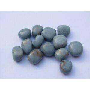 Angelite Tumble Stone (UK based crystal shop, stock & shipping)