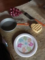 American Girl Doll breakfast items new