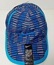 Nike Toddler Feather Light Baseball Hat Obs.B Lagoon Sz12/24M Dri-Fit 6A2523-U55