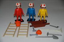 Playmobil 3201 a) obras construccion obrero vintage