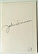 John Lennon book 1990 art exhibit catalog