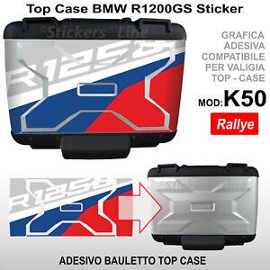 Adesivo Top Case BMW R1250GS Rallye R 1250GS bauletto K50 compatibile GS