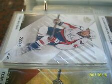 TOM WILSON SP GAME USED 2016-17   # 81 LOT OF 3 CARDS /43, /112 AND /222 !!!