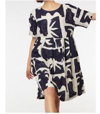 🦄🔮🌸🍭NEW Gorman Santa Maria Smock Linen Dress Size L 14/16  RRP $ 249