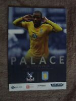 CRYSTAL PALACE v ASTON VILLA - 2013/14 SEASON (PREMIER LEAGUE)