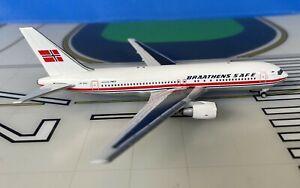 Braathens SAFE Boeing 767-200 LN-SUV 1/400 scale diecast Aeroclassics