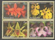 United Nations - Geneva #439a Vf Mnh - 2005 1fr Orchids - Endangered Species