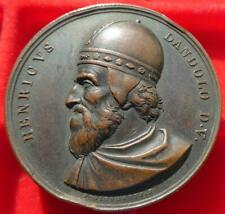 More details for italy, enrico dandolo, doge of venice medal by p(ietro) girometti [bdm ii/274]