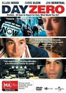 Day Zero DVD Jon Bernthal - Elijah Wood drama WAR THEMED movie - REG 4