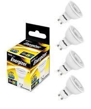 4x Energizer GU10 LED Light Bulb 250lm Spot 3.6W=35W Warm White 3000k 36°