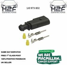 VW VAG 2 Pin Plug Waterproof Connector Kit 1J0 973 802