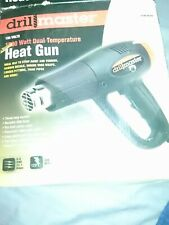 Drill Master 120 Volt 1500 Watt Dual Temperature Heat Gun Item #96289