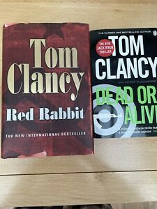 2 Books by Tom Clancy - Dead or Alive; Red Rabbit